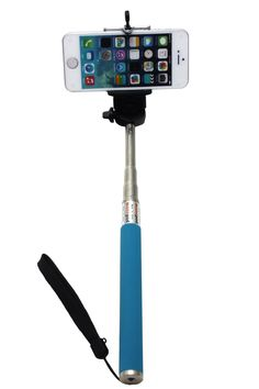 Camera Monopod Selfie Stick 1M for cellphone Apple iphone Multi Colors - Blue  Read full technical specifications and see more photos on http://techspecifications.net