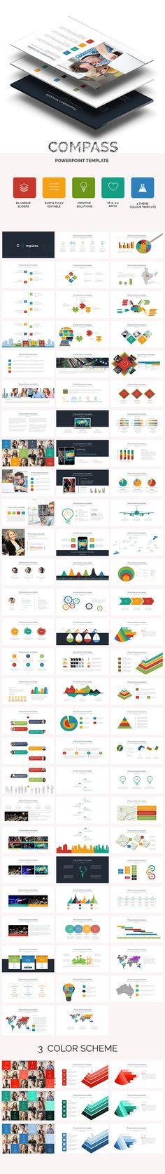 Compass Business PowerPoint Presentation Template #powerpoint #design #slides Download: http://graphicriver.net/item/compass-business-powerpoint-presentation-template/10862478?ref=ksioks