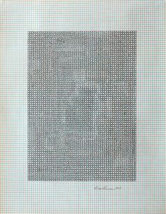 Eva Hesse No title, 1967 Ink on graph paper, 10-7⁄8 x 8-1⁄2 inches, courtesy Craig Starr Gallery