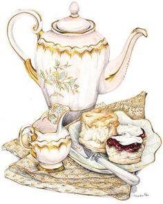 Downton Abbey Season 2 Recipe Cards  Mrs Press's Yorkshire Scones