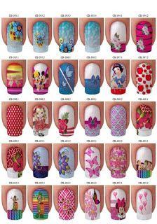Nailart to all! Disney Princess Nails, Disney Nails, Cute Nails, Pretty Nails, Kawaii Nail Art, Shimmer Lip Gloss, Happy Nails, Nail Accessories, Fabulous Nails