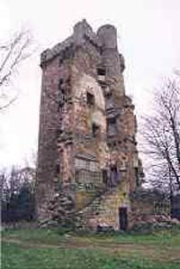 Burgie Castle ~ near Califer, Moray, Scotland