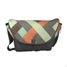 Intertwined 002 Messenger Bag  #zazzle #fathersday #fathersdaygift #messengerbag #rickshaw #gift #custom