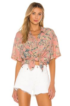 Shop for Sanctuary Resort Shirt in Beach Babe at REVOLVE. Free day shipping and returns, 30 day price match guarantee. House Dress, Beach Babe, Plus Size Dresses, White Shorts, One Piece, Clothes For Women, Womens Fashion, Shirts, Front Button