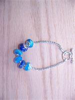 Blue Pandora inspired bracelet  $20.00  http://gottahaveit.vpweb.com/New-Products--.html