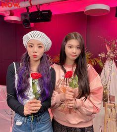 South Korean Girls, Korean Girl Groups, Pre Debut, Girls Together, Kiss, Purple, Fashion, Mini Albums, Artists