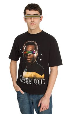 Geordi Takes A Look - Exclusive