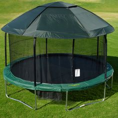 Tr&olinePartsCenter.com - 14 ft Round Tr&oline Cover for Elite JumpPOD $79.95 ( & 39 Awesome tent cover for trampoline images | Kids space ...