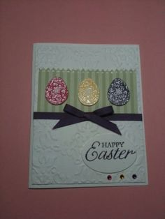 Easter Blossoms Eggplant Easter Blossoms by Ann in SA - Cards and Paper Crafts at Splitcoaststampers