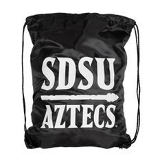 284128aa6 SDSU Aztecs Drawstring Bag Drawstring nylon bag featuring a screen print of  the SDSU Aztecs & Spear logo. $5
