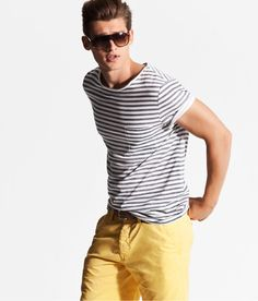 H & M advertises as if they have these yellow pants. AND THEY DON'T. (If you can't tell, I'm still bitter...)