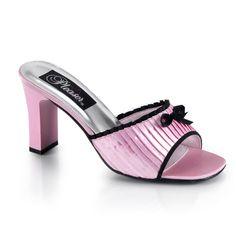 3 Inch Cute Womens Dress Shoes Two Toned Low Heel Shoes Square Heel Slide Low Heel Shoes, Low Heels, Shoes Heels, Wholesale Shoes, Wholesale Fashion, Women Romance, Cheap Designer Shoes, Evening Shoes, Bridal Shoes