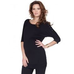 Seraphine nursing top- would be so easy to make by just adding snaps to sleeves of a regular tee!