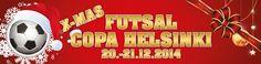 Futsal-vuoden päättävä jouluturnaus lähestyy!     Jo kuudennen kerran järjestettävä Futsal Copa Helsinki pelataan tänä vuonna toiseen kertaan, mutta jouluversiona. Mikään ei sytyt... http://puoliaika.com/futsal-vuoden-paattava-jouluturnaus-lahestyy/ ( #copafutsal #futsal #futsalturnaus #joulufutsal)