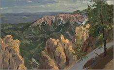 Bryce National Park. Painted by Thomas Kinkade. http://www.thomaskinkade.com/magi/servlet/com.asucon.ebiz.catalog.web.tk.CatalogServlet?catalogAction=Product&productId=202630&menuNdx=0