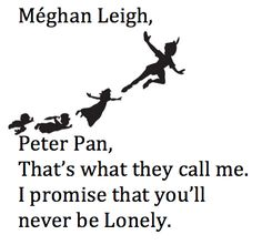 Peter Pan Fly Away Free Wings Inspire Quote