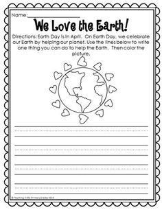 No Prep Spring Printables - First graders will love reviewing math and literacy concepts with these fun math and literacy printables. They review skills such as informational writing and more!