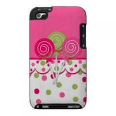 4th generation iPod Touch cases make great gifts for teenage girls. Possible gift for Mia.