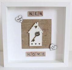 Personalised First New Home Frame Housewarming Gift Wedding Family Christmas in Home, Furniture & DIY, Home Decor, Photo & Picture Frames | eBay
