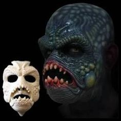 The Gill Man crawls from the bowels of a swamp or murky lagoon in search of its next victim. Another versatile piece, The Gill Man was designed as a scaley sea creature but also works well in any swam