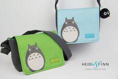 NEW my neighbor Totoro cossbody messenger by heidiandfinnstudio