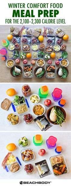 Winter is here and it brings with it excitement for the holidays, nights by the fire, and weekends in the mountains! Indulge in the splendors of the season while sticking to your healthier habits with this hearty winter meal prep menu filled with comfort foods. Instead of digging into cheat meals, you'll have a fridge full of healthy lunches and dinners ready to heat up. // meal prep // winter // comfort // food // healthy // eats // Beachbody // BeachbodyBlog.com