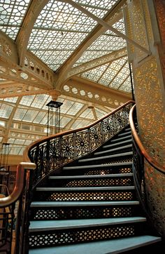 Chicago staircase