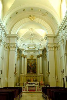 Chiesa di S Michele Arcangelo interni #marcafermana #monsampietromorico #fermo #marche