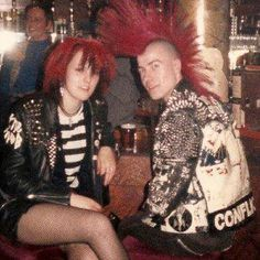 Punk couple