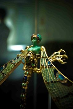 Dragonfly woman by Rene Lalique