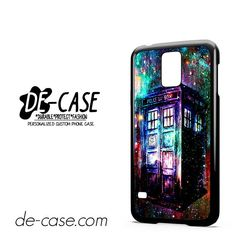 Tardis Doctor Who Colorful DEAL-10470 Samsung Phonecase Cover For Samsung Galaxy S5 / S5 Mini