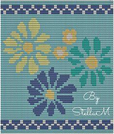 Crochet Bedspread Pattern, Tapestry Crochet Patterns, Crochet Handbags, Crochet Purses, Cross Stitch Designs, Cross Stitch Patterns, Mochila Crochet, Diy Perler Beads, Tapestry Bag