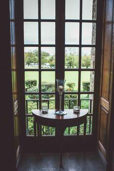 View from Rowallan Castle window