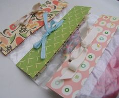 Cute way to top a ziplock bag and make it look like a gift bag!