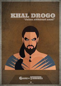 Khal Drogo Game of Thrones