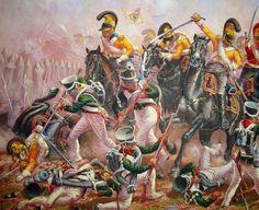 Pinturas de Guerra — 1812 09-07 Borodino, General Bagration - Leonov