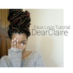 Def will try doing hers! Same colors and erthan'! :) FAUX LOCS