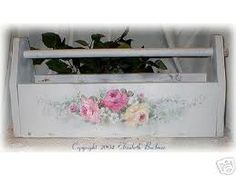 roses painted on furniture - Google Search