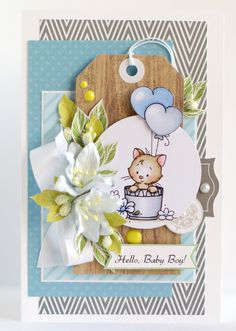 Baby Shower card by Anya_L at @studio_calico