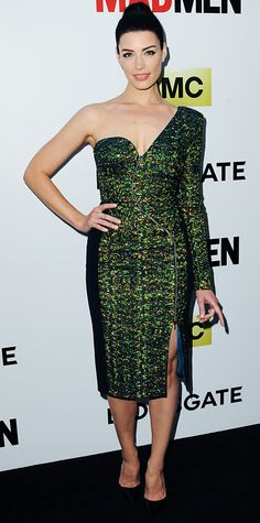 Look of the Day - April 3, 2014 - Jessica Pare in Antonio Berardi from #InStyle