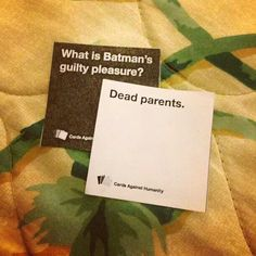 Love Cards against Humanity!