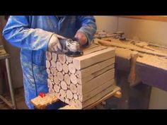 Wood Project: How To Make A Stylish Wooden Side Table PART 2 - YouTube