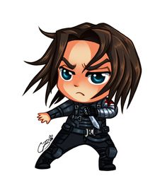 #Winter #Soldier #Fan #Art. (Bucky) By: C0ffeeBee.