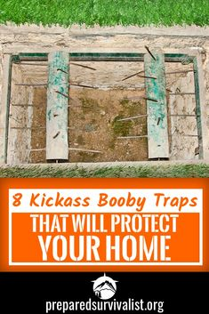 Burglars are on every corner waiting for an opportunity to rob you from your valuables. This will only increase when SHTF. To protect your home from unwanted guests you can start using these 8 Kickass boobytraps. Survival Weapons, Survival Food, Homestead Survival, Wilderness Survival, Outdoor Survival, Survival Prepping, Survival Skills, Survival Supplies, Survival Hacks