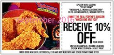 Popeyes Chicken Coupons Ends of Coupon Promo Codes JUNE 2020 ! Is chain the Miami, founded Popeyes headquarters was it In the is their. Free Printable Coupons, Free Printables, Worlds Best Chicken, Franchise Restaurants, Dollar General Couponing, Popeyes Chicken, Fried Chicken, Southern Chicken, Coupons For Boyfriend