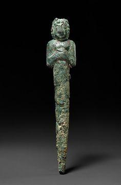 Foundation Figure for a Deity  Sumerian, 2500-2350 BC  The Metropolitan Museum of Art