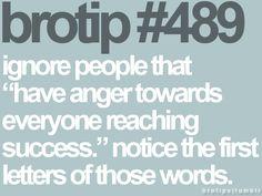 "H-a-t-e-r-s!  Sad thing is I know a few ""close"" ppl like this :/  ..i'll pray for them.."