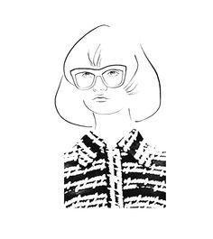 Gucci's Granny madness fashionillustration illustration fashiondrawing fashionillustrator