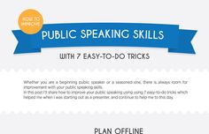 [Infographic] How to Improve Public Speaking Skills with 7 Easy-to-do Tricks
