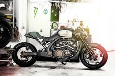 The search for Loch Ness Monster is over, stop your expedition and read the build of one of the finest custom Yamaha VMAX.